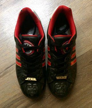 Zapatillas Segunda Wars De Darth Vader Adidas Por 35 Star
