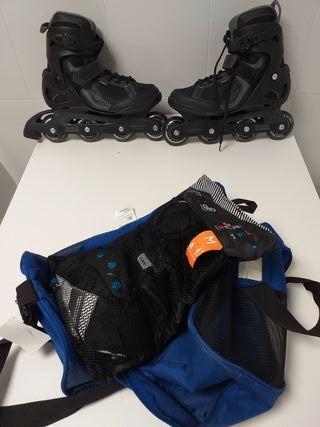 patines en línea 43 OXELO ACTIVE FIT.3