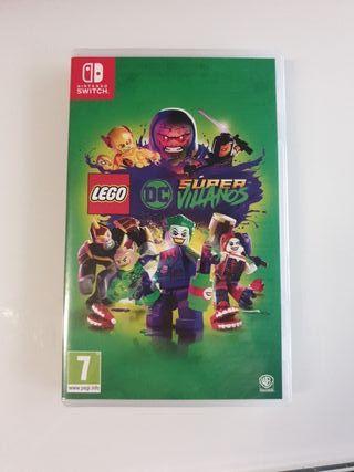 Lego DC súper villanos switch
