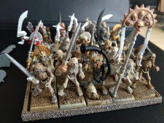 25 Guerreros esqueletos Reyes Funerarios GW