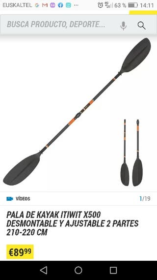 pala kayak