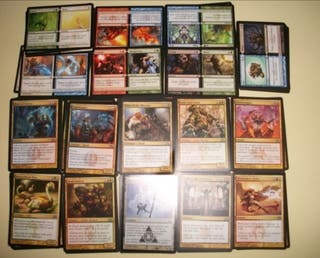Lote 100 magic mezcladas