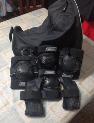 Pack patines en linea + protecciones