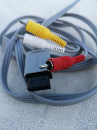 cable conexión Wii Nintendo, original