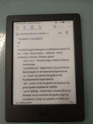 ebook Kindle lector de libros electrónicos