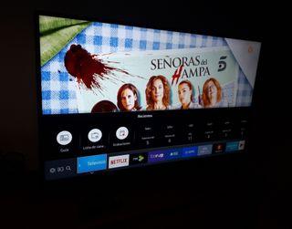 "televisor SAMSUNG 50"" smart tv."