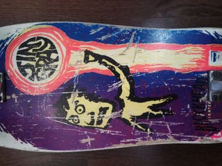 Skate Blockhead Jim Gray