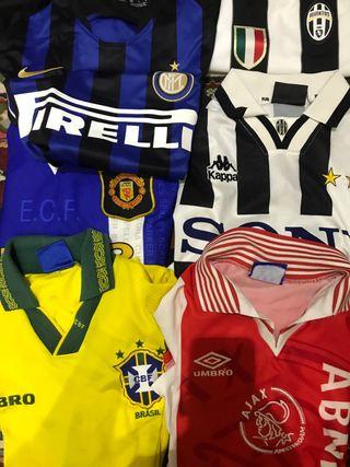 820ef3bc053 Camisetas fútbol retro de segunda mano en Madrid en WALLAPOP