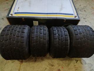 juego de neumáticos de agua para kart