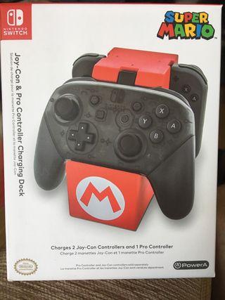 Cargador mandos Nintendo Switch