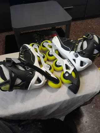 patines semi nuevo
