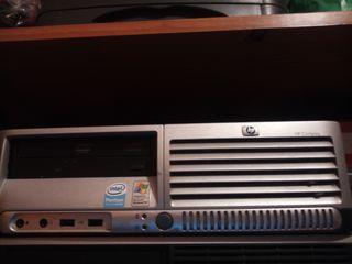 ordenador sobremesa HP dual core