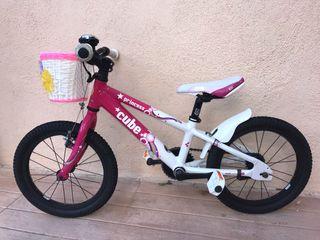 Bici niña 3-6 años