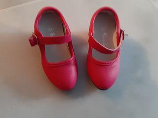 tacones flamenca niña