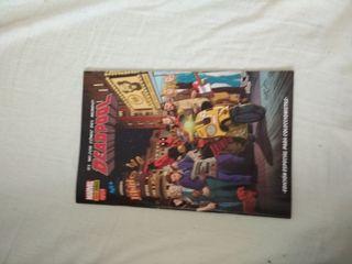 Comic Deadpool Edición Limitada La Resistencia