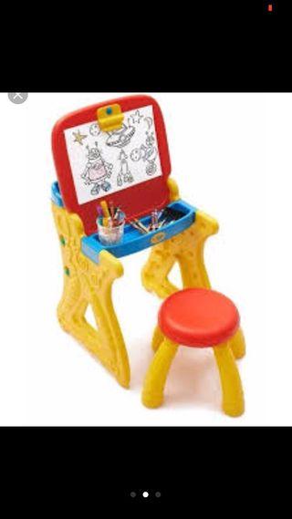 Pupitre con pizarra infantil Crayola