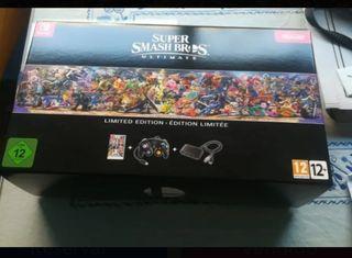 Juego Super Smash Bros +mando+ adaptador