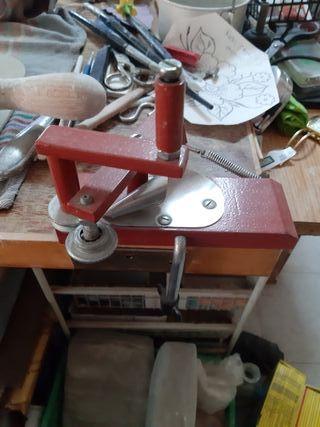 maquina de rizar papel