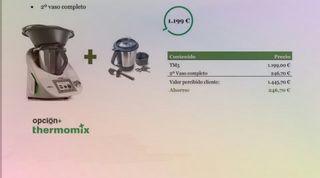 THERMOMIX TM5+SEGUNDO VASO