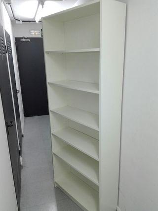 librería billy ikea blanca
