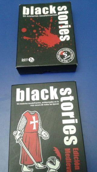 Dos juegos Black Stories