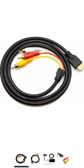 Cable HDMI a RCA