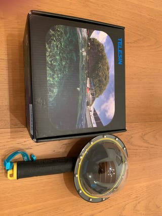 Telesin Domo Subacuático GoPro Hero 5-6