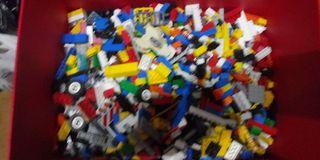 lotazo de piezas lego
