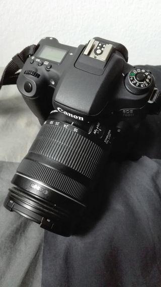 Cámara réflex Canon EOS 760D