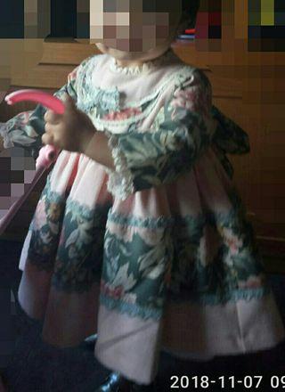 Vestido de niña (Sanchez de la Vega)
