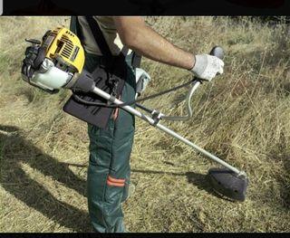 Se corta hierba ,maquina desbrozadora