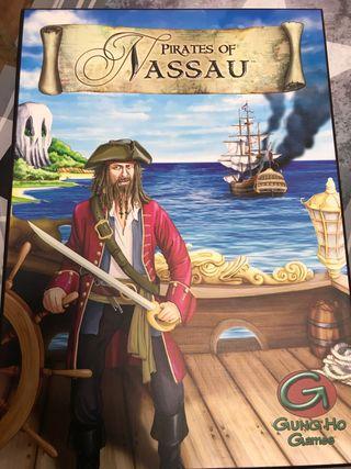 Pirates of nassau juego de mesa