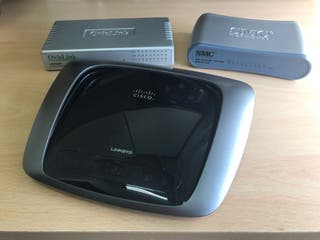 Router Linksys VRT160N V2 + Switchs
