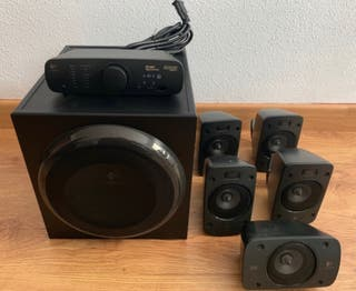 altavoces 5.1 Logitech Z906 500W 5.1 THX Digital