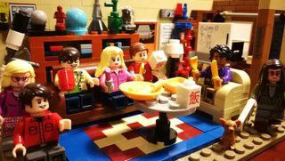 The big bang theory. Compatible con Lego
