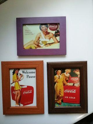 Cuadros Coca-Cola vintage