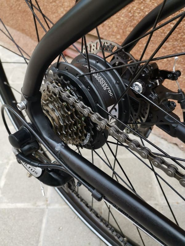 Bicicleta Eléctrica 28..7velocidades