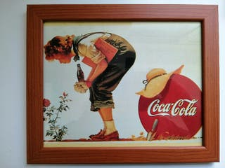 Cuadro Coca-Cola vintage