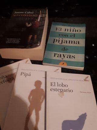 Se venden 5 Libros para adultos