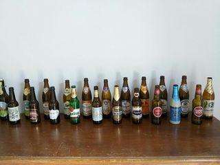 colección botellas cerveza