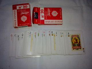 Barajas poker español Fournier (dos por 5eu)