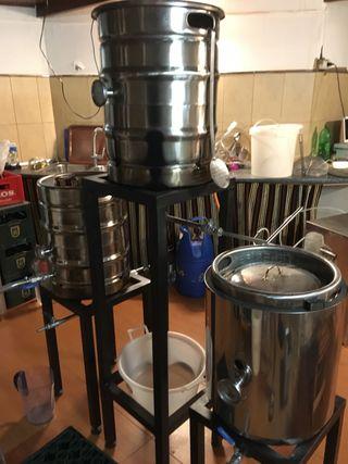 Equipo de Elaboración de Cerveza Artesanal