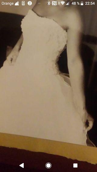 3e9460f4c Vestido de novia de segunda mano en Tarragona en WALLAPOP