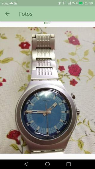 Reloj Swatch cuarzo de aluminio unisex