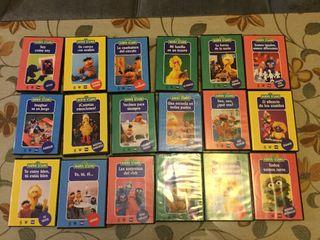Colección 18 DVD SERIE BARRIO SESAMO
