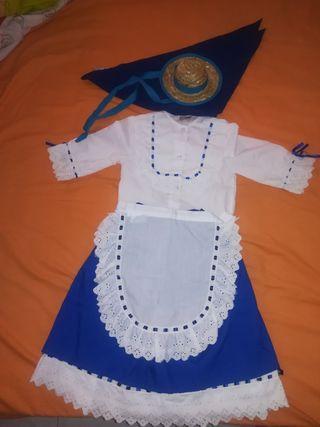 traje de campesina
