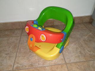 Asiento baño bebes