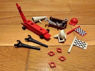 playmobil click piezas taller de coches