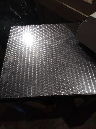 Mesa aluminio