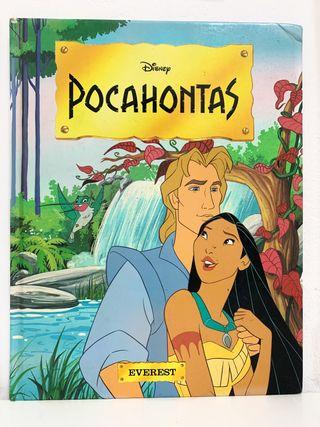 Libro Pocahontas DISNEY